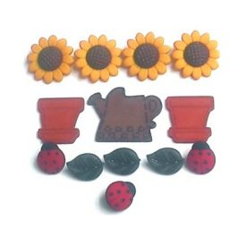 Fantasie Knoopjes Creative Collection Sunflowers 168