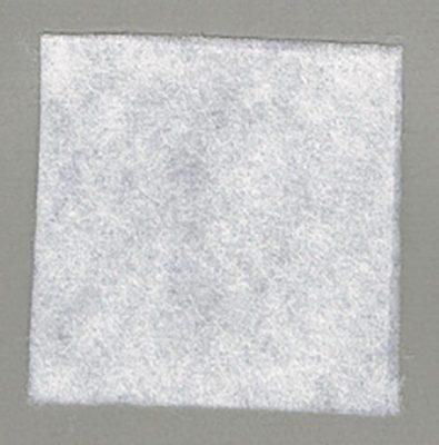 HH650 wit soepel dun tweezijdig plakbaar volumevlies