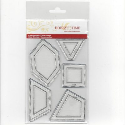 Transparante Quiltstempel CRP0028 o.a 1 inch Honeycomb