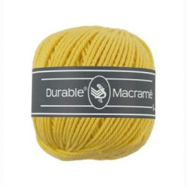Durable Macramé garen Bright Yellow 2180