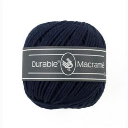 Durable Macramé garen Navy 321