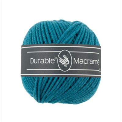 Durable Macramé garen Turquoise 371