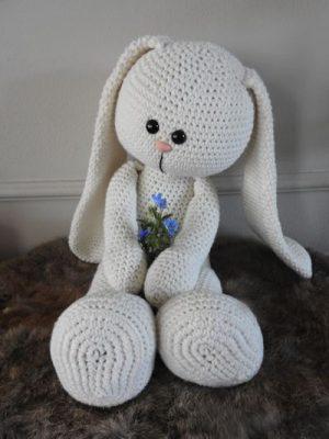 Haakpakket XXL Funny Bunny Basic ivoor