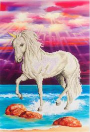 Diamond Dotz Magical Unicorn Design Size 51 x 77cm