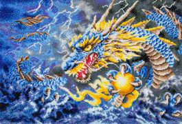 Diamond Dotz Mythical Dragon Design Size 68 x 47cm