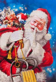 Diamond Dotz Santa's Secret Design Size 57 x 82cm