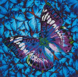 Diamond Dotz Flutter by Mauve Design Size 30,5 x 30,5cm