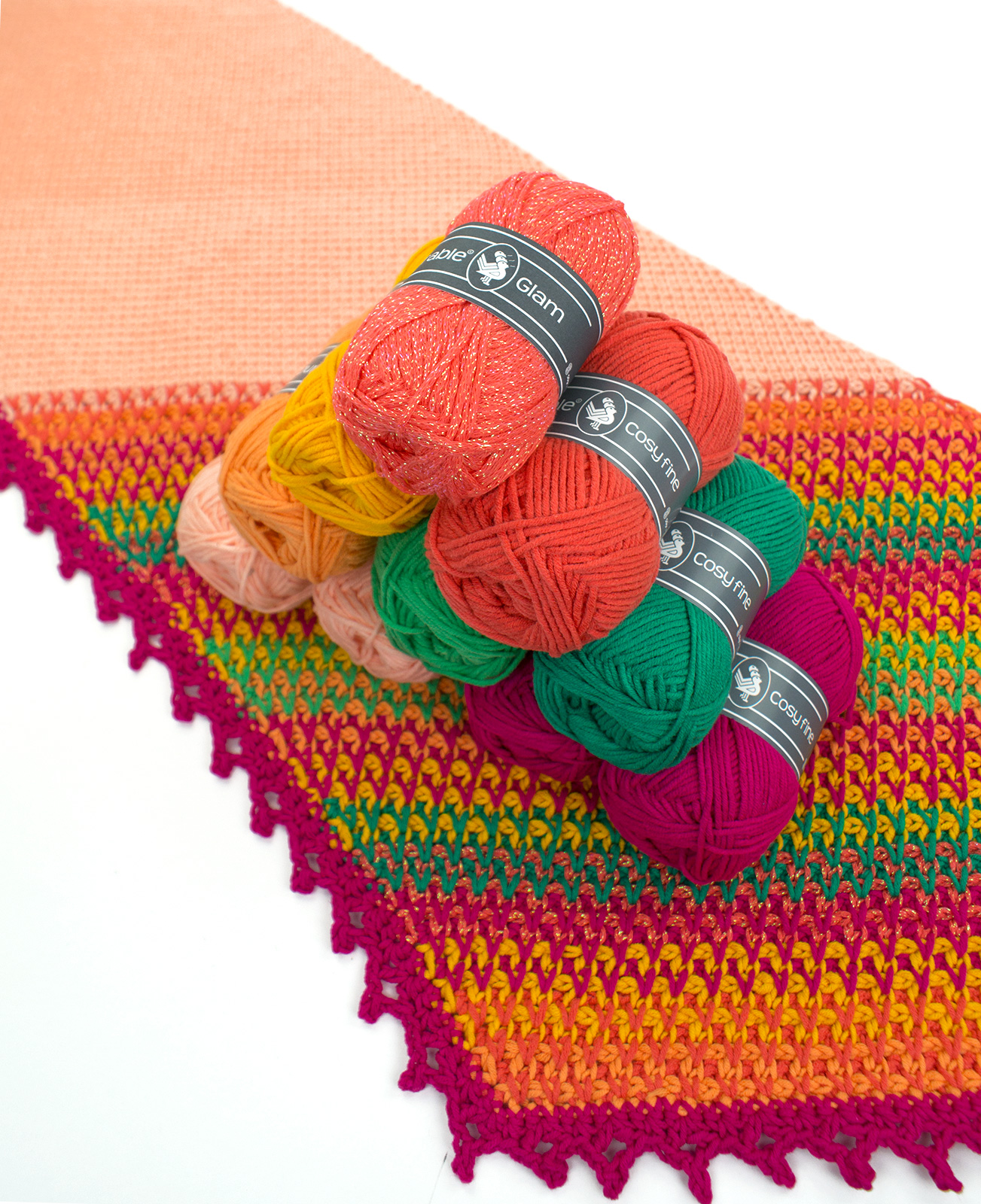 Durable Cosy Fine 2190 Coral Hobby Time