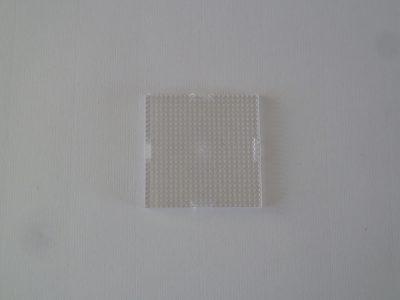 Pixel Basisplaat Klein Transparant 6x6cm
