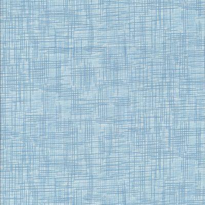 Blauwe stof met donkere strepen