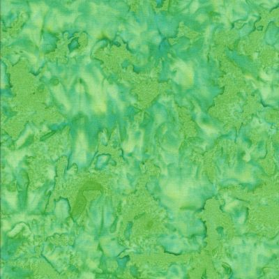 Lime groene batik stof