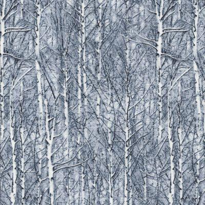 Grijsblauwe bomenstof
