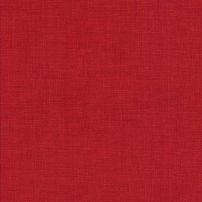 Rode stof met weefmotief