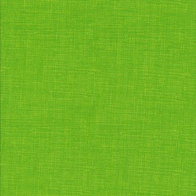 Gras groene stof met weefmotief