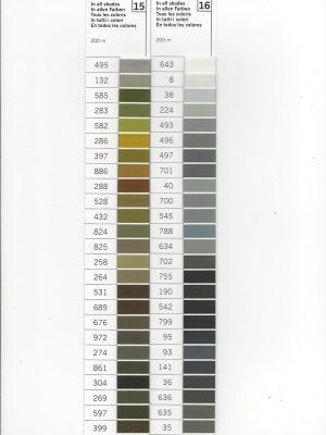 Gütermann naaigaren 200m Klik op de foto voor alle kleuren