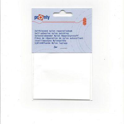 Zelfklevend Nylon Reparatiedoek Wit